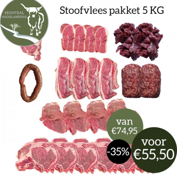 Stoofvleespakket-5KG